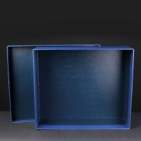Award Box No Compartments 11.5x10x3.75 inches, Single, White Sleeve