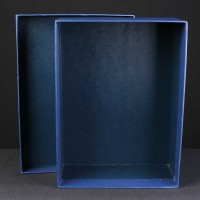 Award Box No Compartments 7.7x10.25x3.75 inches, Single, White Sleeve