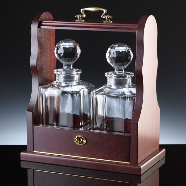 Regal 2 Decanters Whisky Set, Single, Manufacturer's Own Carton